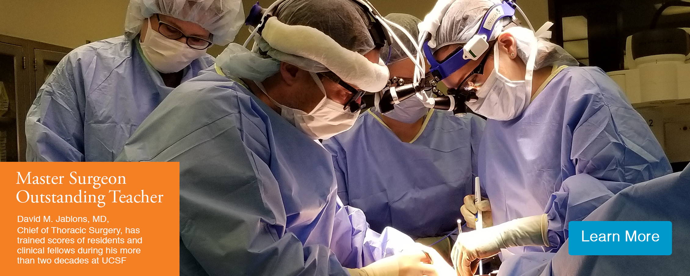 Thoracic Oncology Program - Dept  of Surgery, University of