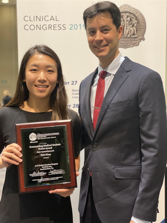 Iris Liu Receiving Award